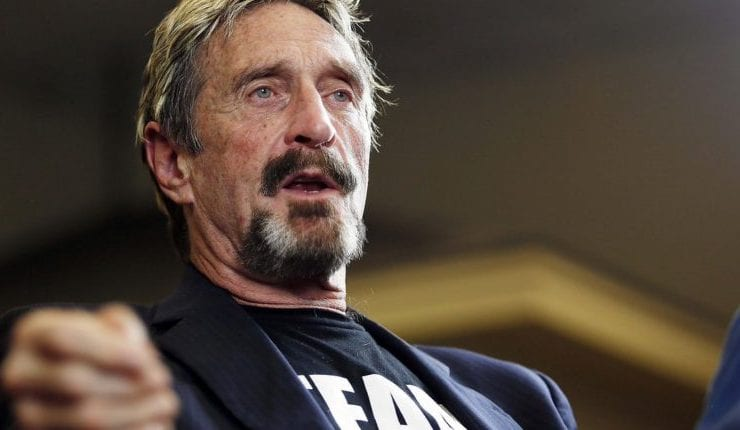 John McAfee Offers to Build Cuba's First Cryptocurrency